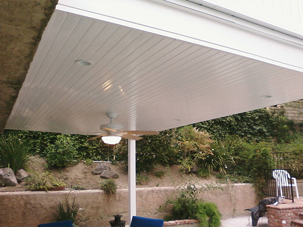Solid Water Tight Patio Cover