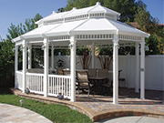 Vinyl Gazebos - Custom Designs